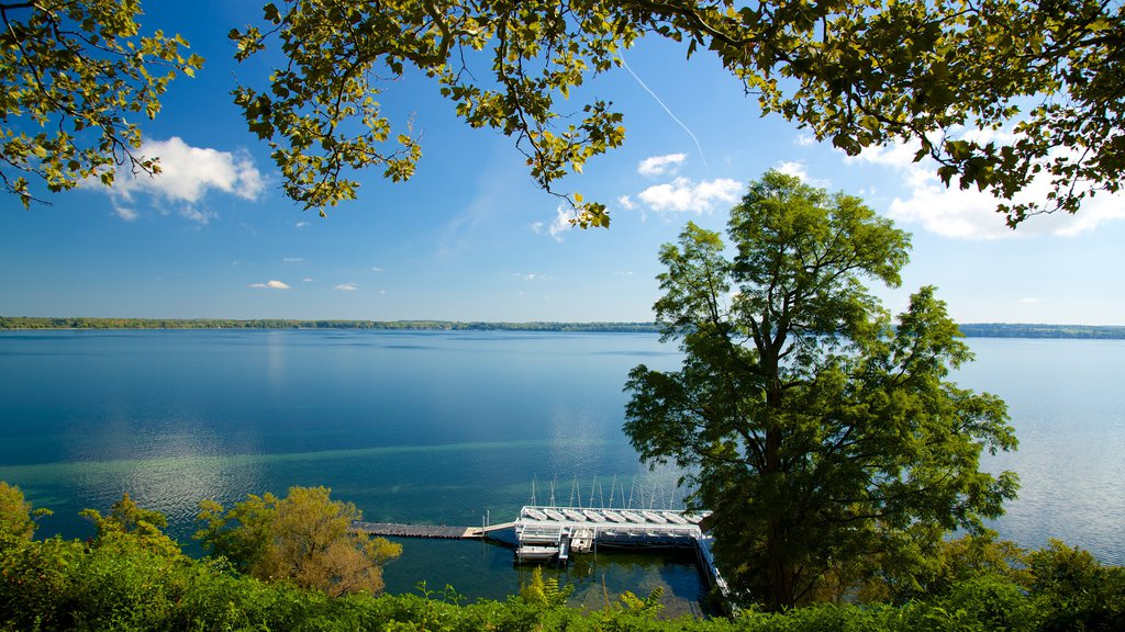 Geneva featuring a lake or waterhole and tranquil scenes
