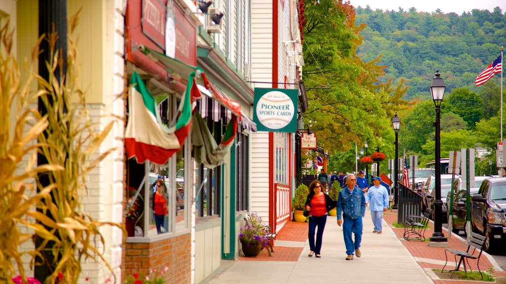 Cooperstown which includes a city