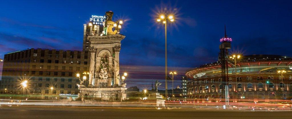 Plaça Espanya, Joaquin Aranoa, Pixabay