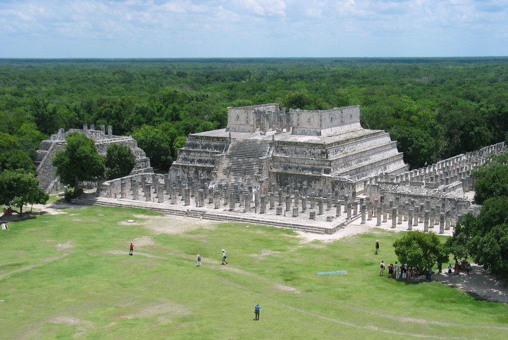 Tempio dei Guerrieri - By Keith Pomakis (Own work)  , via Wikimedia Commons