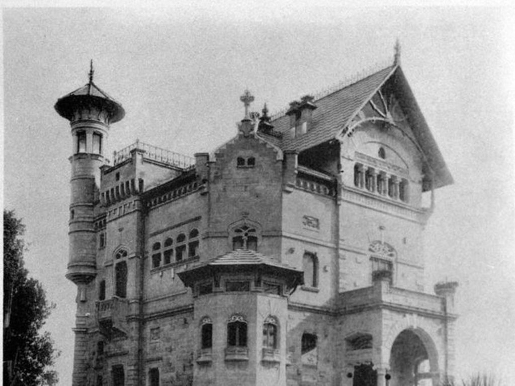 Villino Florio Palermo - foto storica