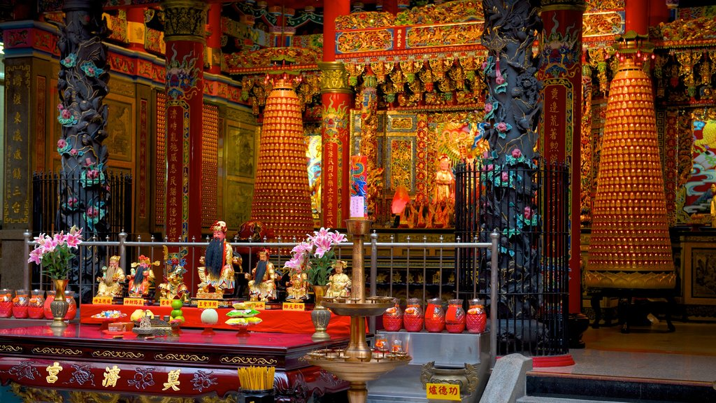 Dianji Temple featuring heritage elements and a temple or place of worship