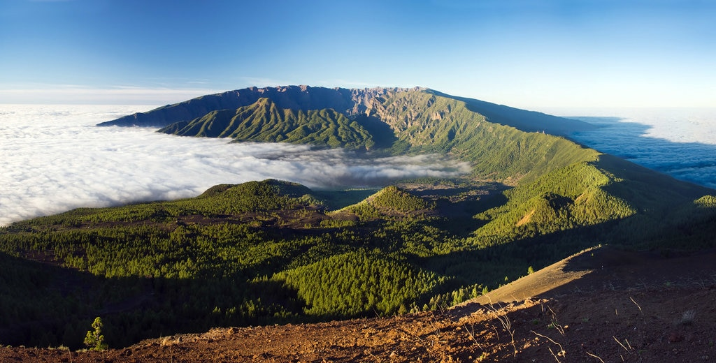 """Lo splendido panorama da Pico Borigoyo a La Palma, Canarie"" by Ivan Borisov - Under Creative Common license CC BY-SA 2.0 (https://creativecommons.org/licenses/by-sa/2.0/) - https://www.flickr.com/photos/borisov/11835759164"