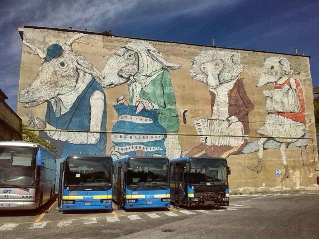 """""""Murale di Via Fiochetto"""" by Maria Grazia Casella"""