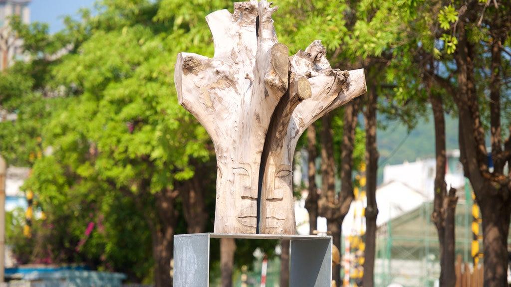 Pier-2 Art Center featuring a statue or sculpture and outdoor art