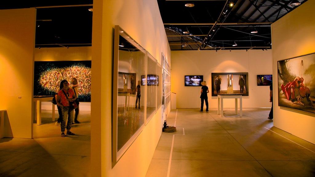 Pier-2 Art Center which includes interior views
