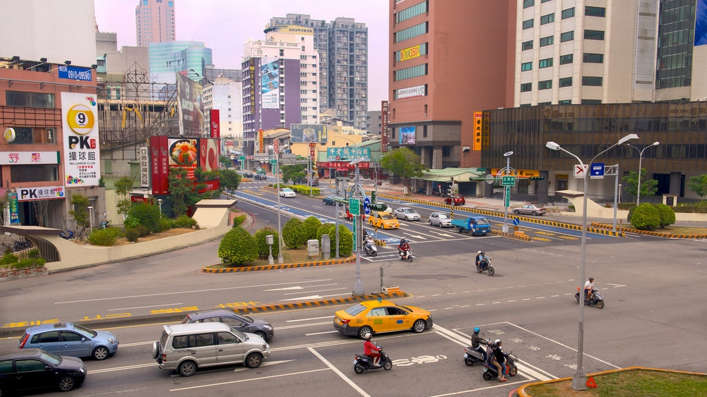 Taichung featuring a city
