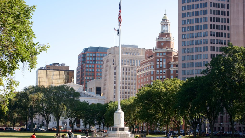 New Haven which includes a city and a garden