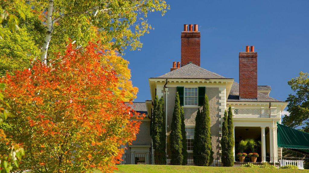 Vermont Meridional ofreciendo los colores del otoño