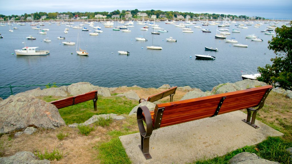 Marblehead featuring a park and a bay or harbor
