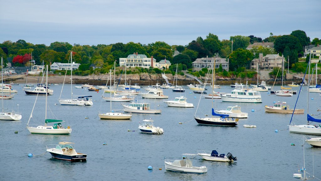 Marblehead featuring a bay or harbor