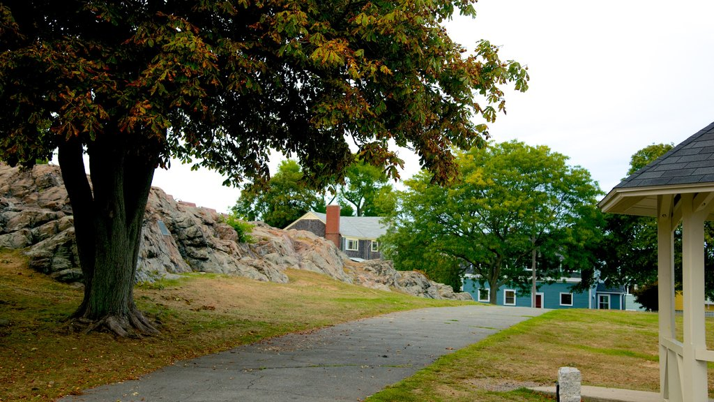 Marblehead featuring a park