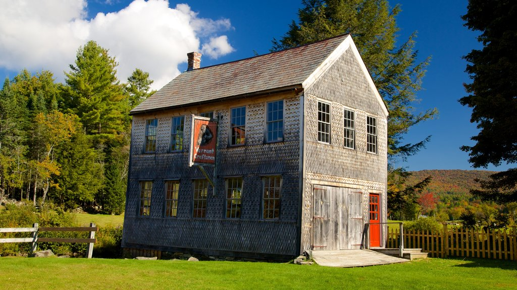 Weston showing heritage architecture