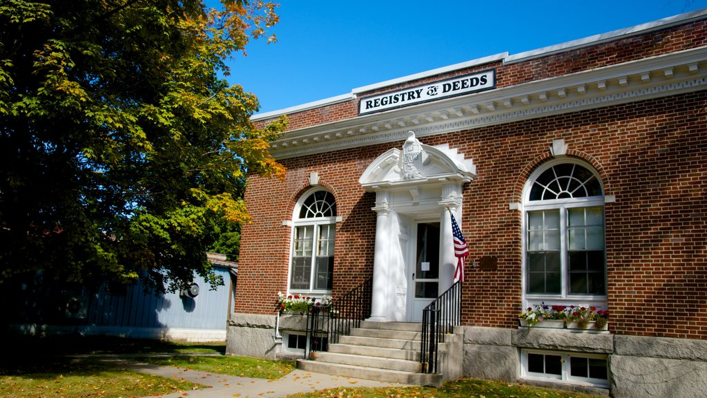 Fryeburg which includes heritage architecture