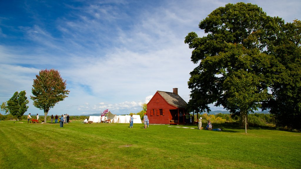 Saratoga National Historical Park which includes tranquil scenes