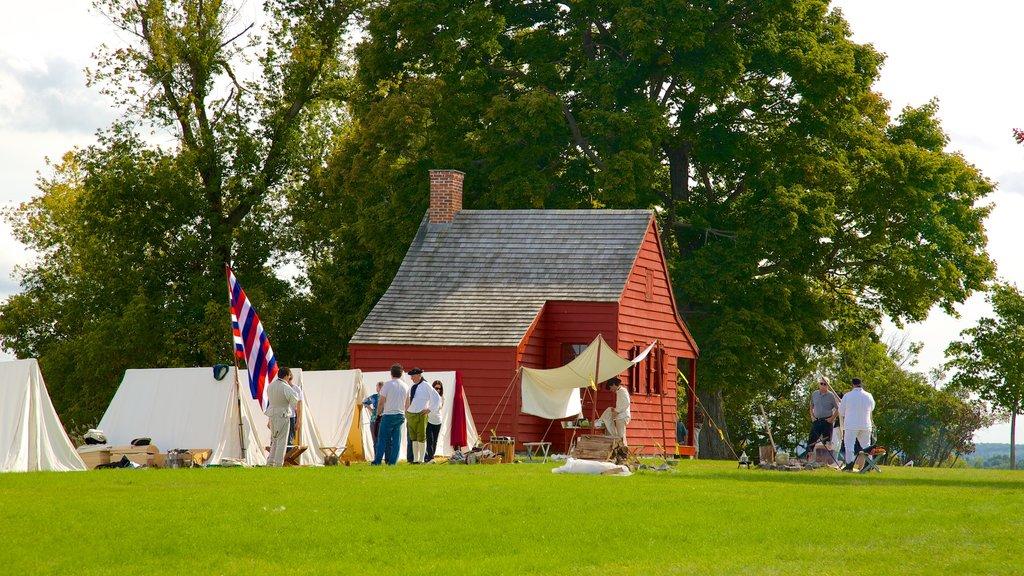 Saratoga National Historical Park showing heritage architecture