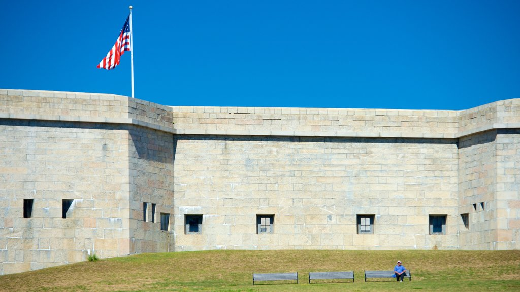Fort Trumbull State Park which includes heritage architecture