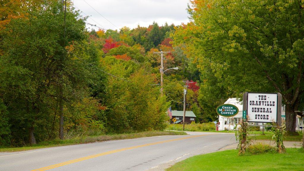 Granville showing signage