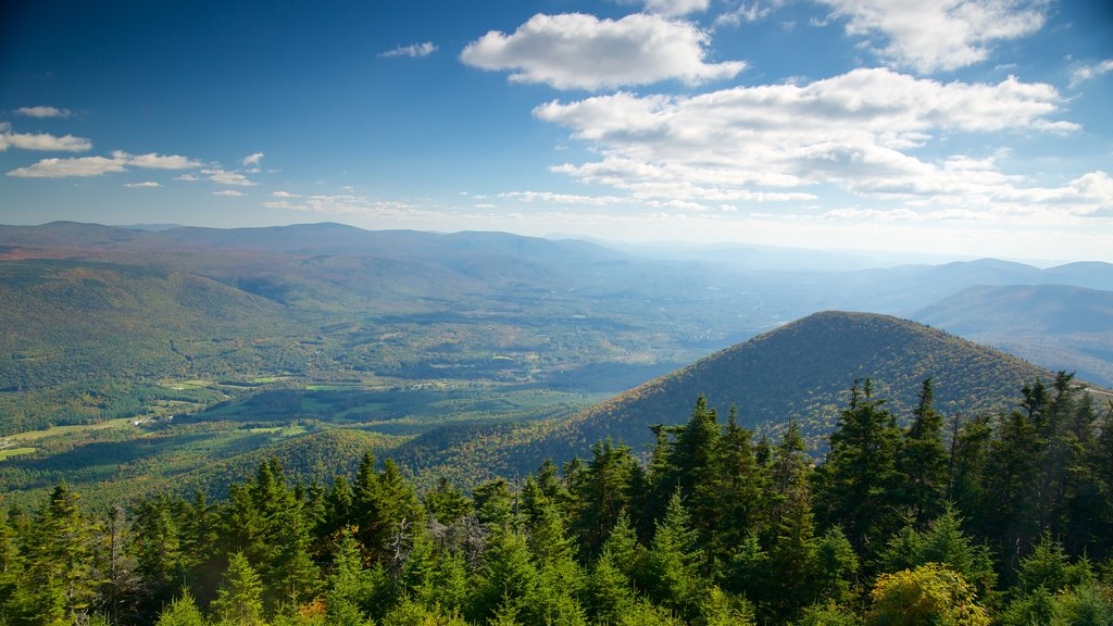 Mount Equinox which includes mountains, landscape views and tranquil scenes