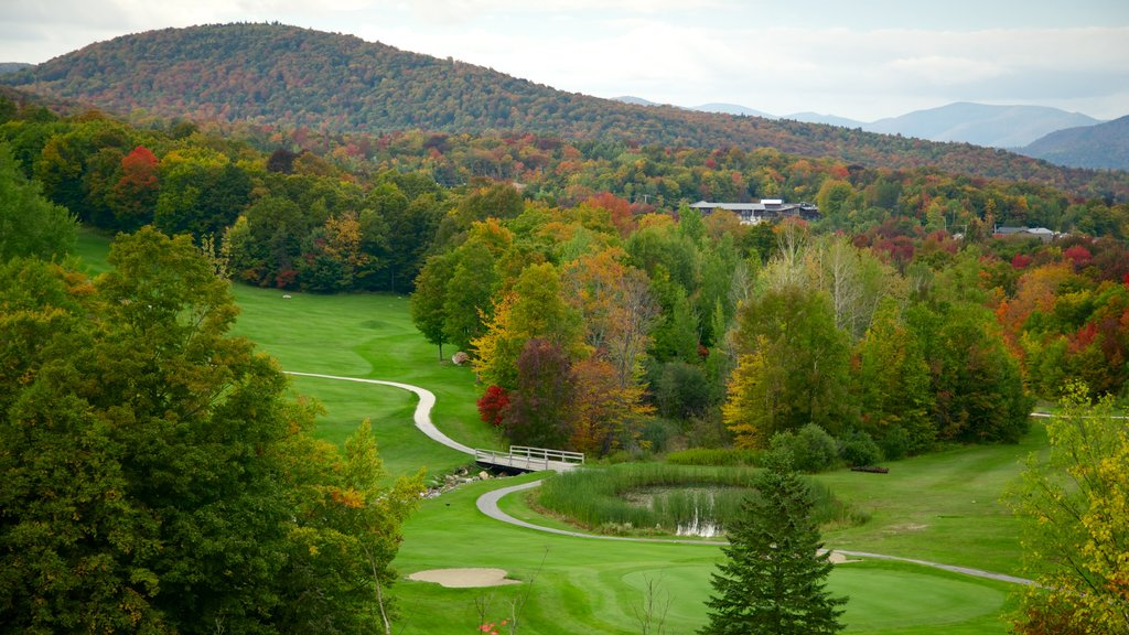 Killington Golf Course which includes landscape views
