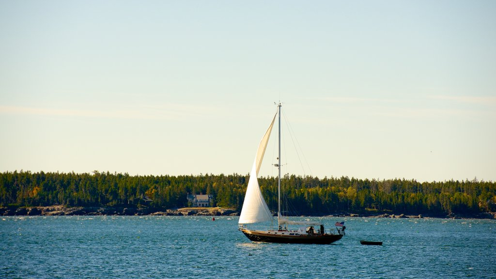 Bar Harbor featuring sailing