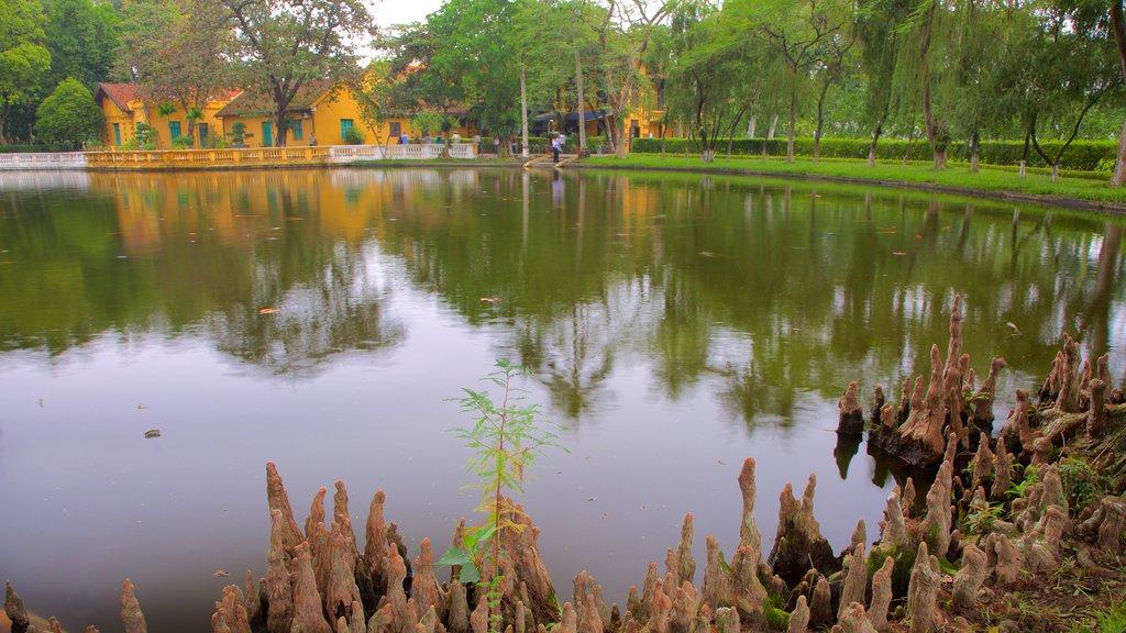 Hanoi featuring a lake or waterhole, mangroves and a park