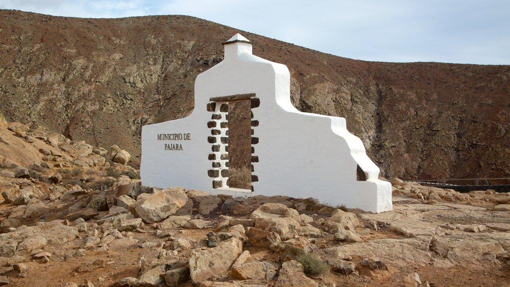 Pajara showing signage