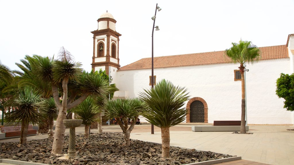 Antigua showing a square or plaza