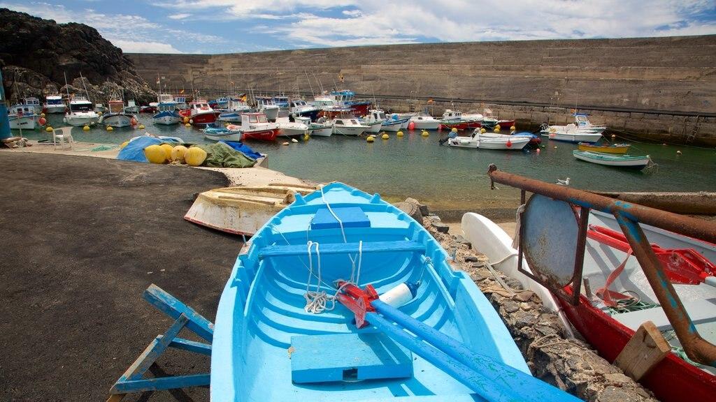 El Cotillo featuring boating and a bay or harbor