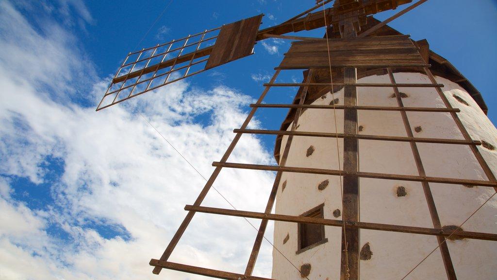 El Cotillo which includes a windmill