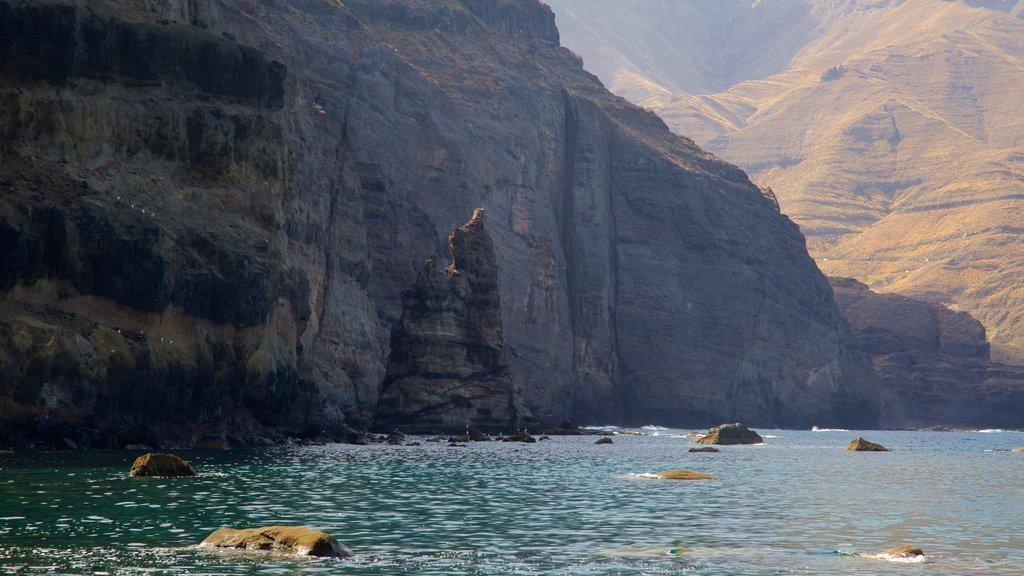Agaete featuring general coastal views and rocky coastline