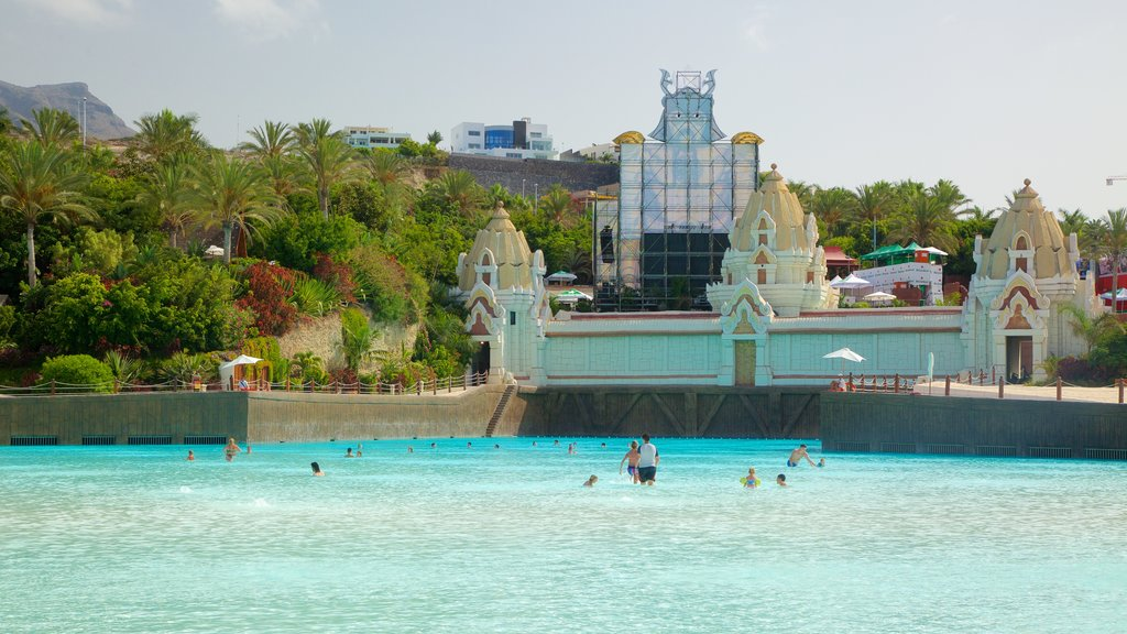 Siam Park featuring a luxury hotel or resort, swimming and a pool