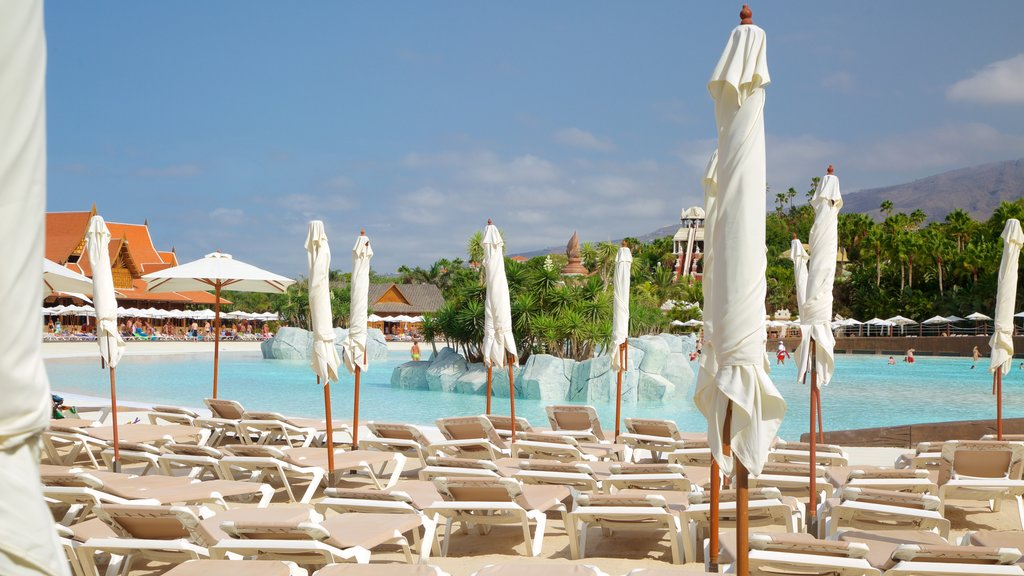 Siam Park which includes a pool and a luxury hotel or resort