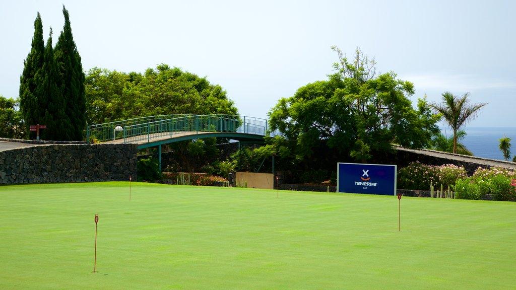 Golf Costa Adeje showing golf