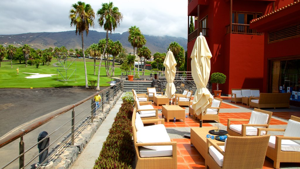 Golf Costa Adeje which includes cafe lifestyle and golf