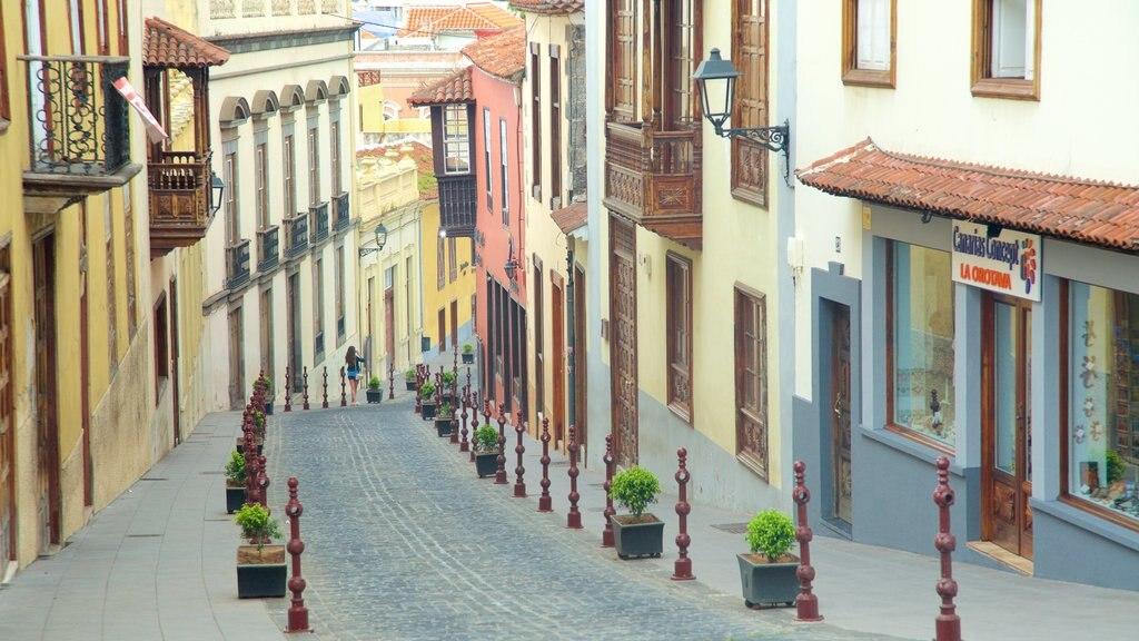 La Orotava featuring a city