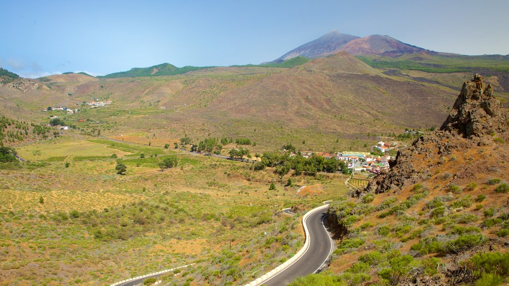 Santiago del Teide showing tranquil scenes