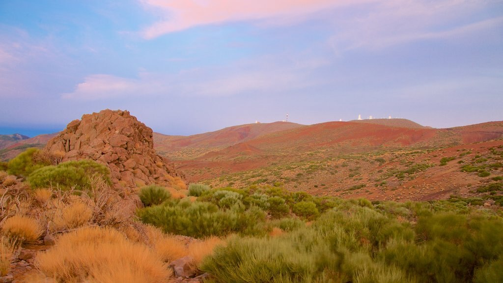 Santiago del Teide which includes desert views
