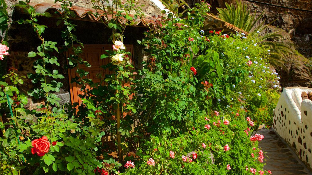 Masca which includes flowers