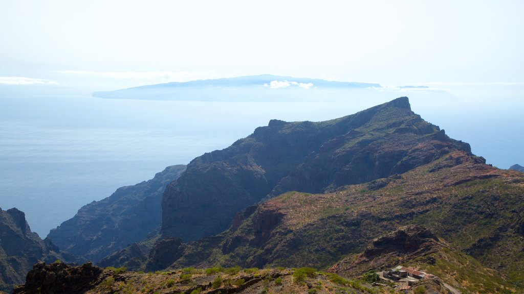Masca which includes mountains and general coastal views