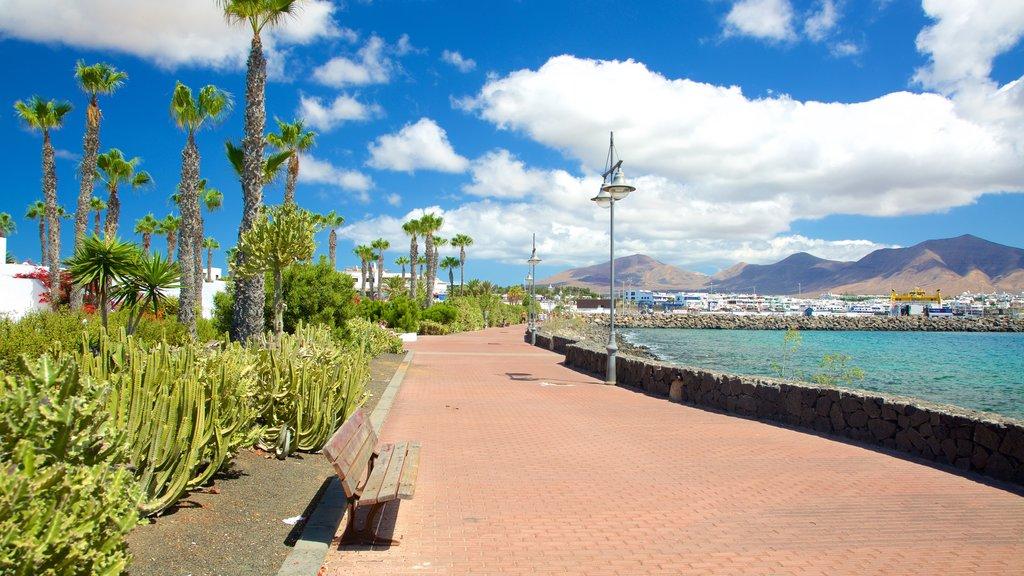 Playa Blanca which includes general coastal views