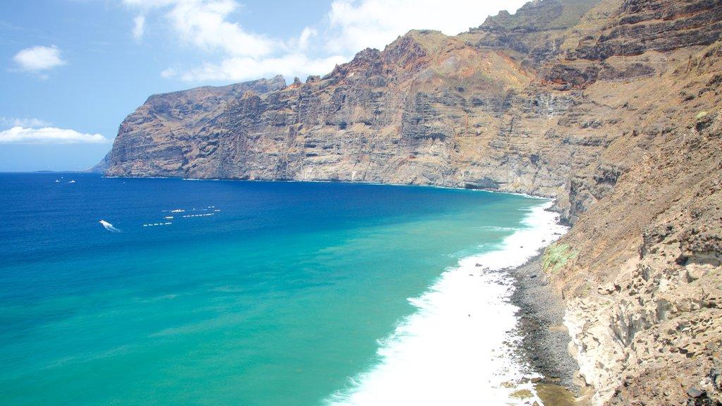 Los Gigantes featuring rugged coastline