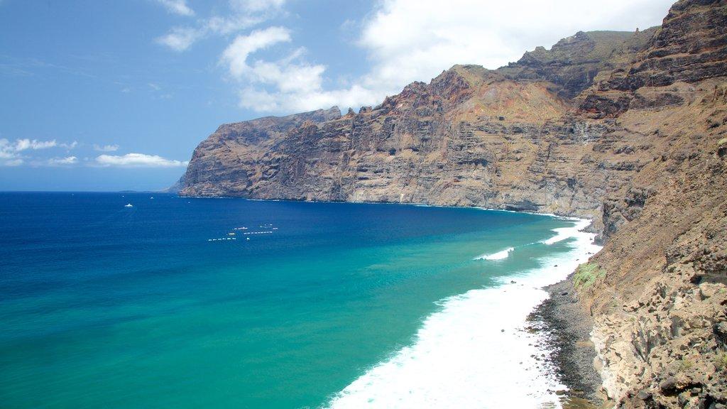 Los Gigantes showing rugged coastline