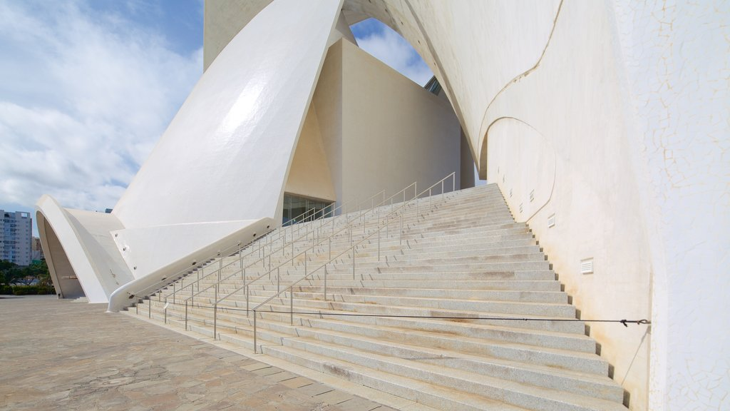 Auditorio de Tenerife showing modern architecture