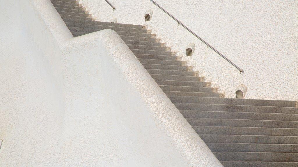Auditorio de Tenerife featuring modern architecture