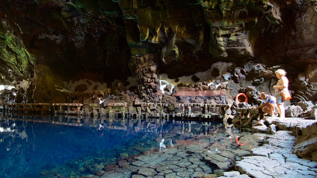 Jameos del Agua which includes caves