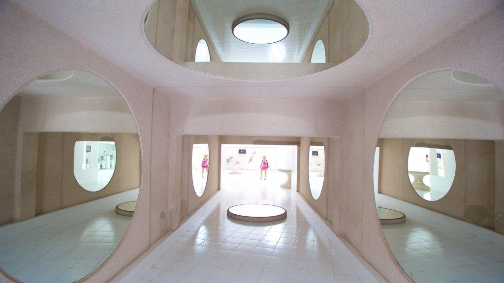 Jameos del Agua which includes interior views