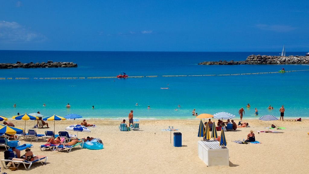 Amadores Beach featuring general coastal views, a beach and swimming