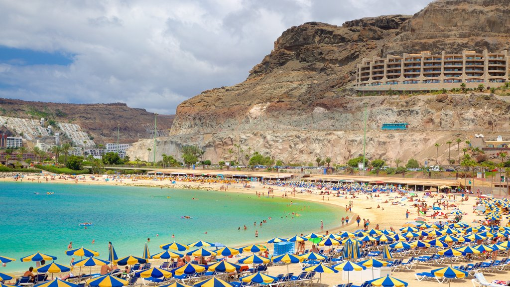 Amadores Beach featuring general coastal views, a sandy beach and a luxury hotel or resort
