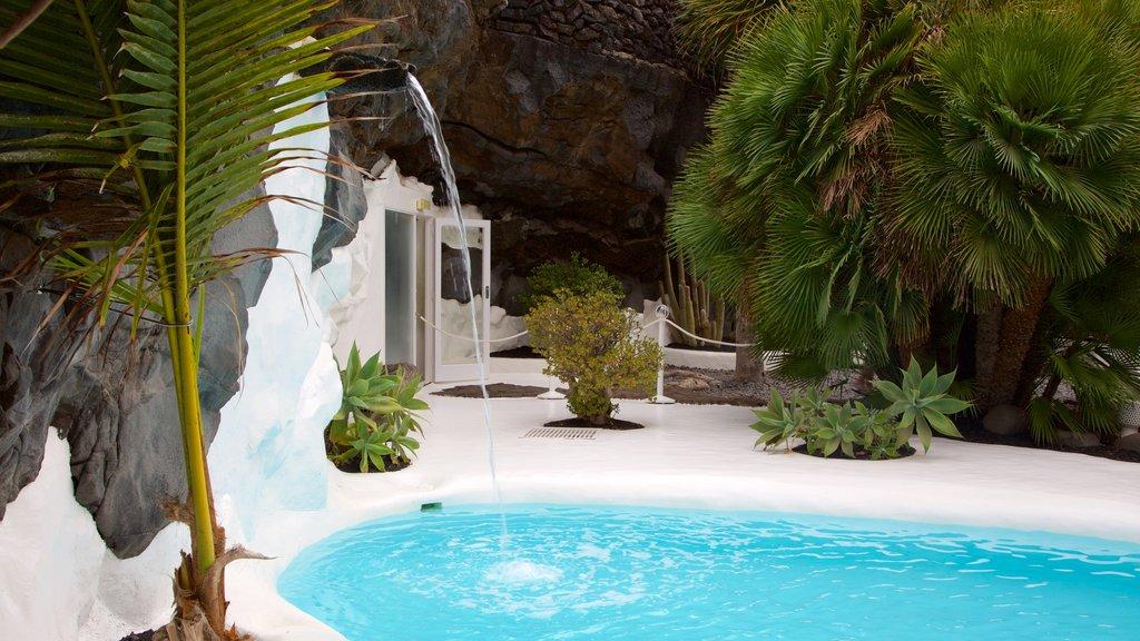 Cesar Manrique Foundation showing a pool